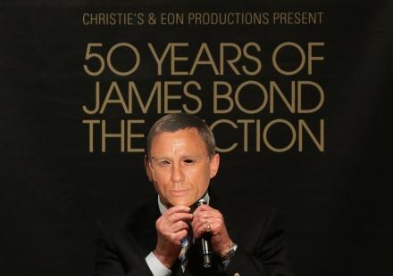 James Bond Fête ses 50 ans en grande pompe