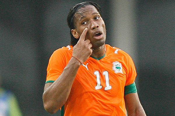 Didier Drogba : «le football rassemble tout le pays»