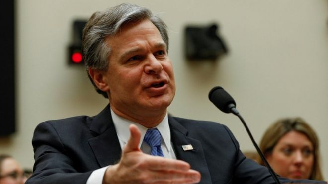 """La Chine est la """"plus grande menace"""" pour les États-Unis (Directeur du FBI)"""