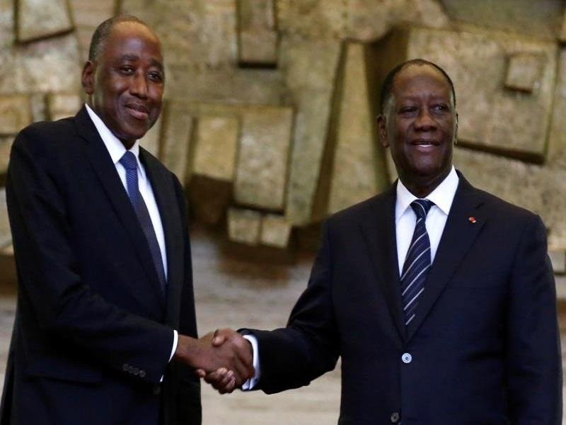 """Décès d'Amadou Gon Coulibaly : """"la Côte d'Ivoire perd un modèle pour la jeunesse, un exemple de compétence"""", Alassane Ouattara"""