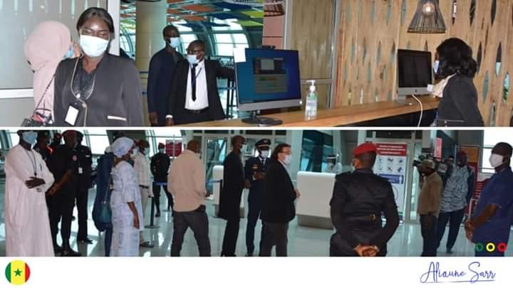 Ouverture des frontières aériennes le 15 juillet: l'AIBD prêt pour la reprise selon le ministre Alioune Sarr