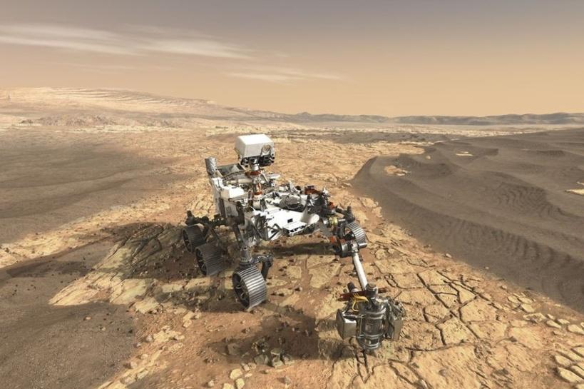 La Chine dévoile le robot destiné à se poser sur la planète Mars en 2020