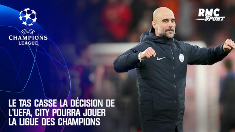 Manchester City : Le TAS donne raison aux Citizens qui pourront jouer en Ligue des champions