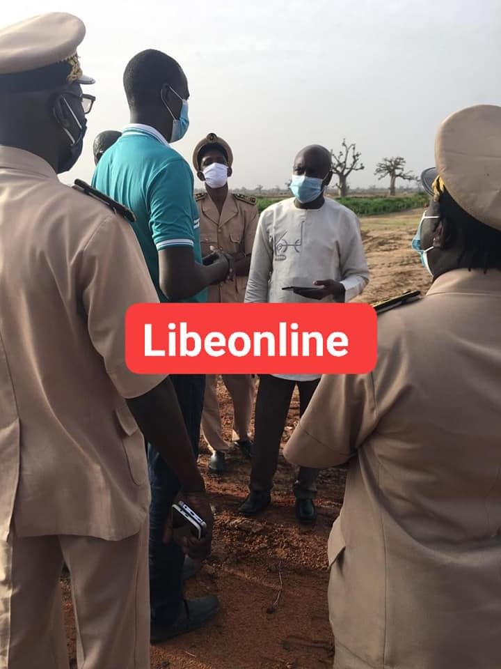 Le ministre de l'Intérieur Aly Ngouille Ndiaye s'est rendu à Ndingler ce mardi