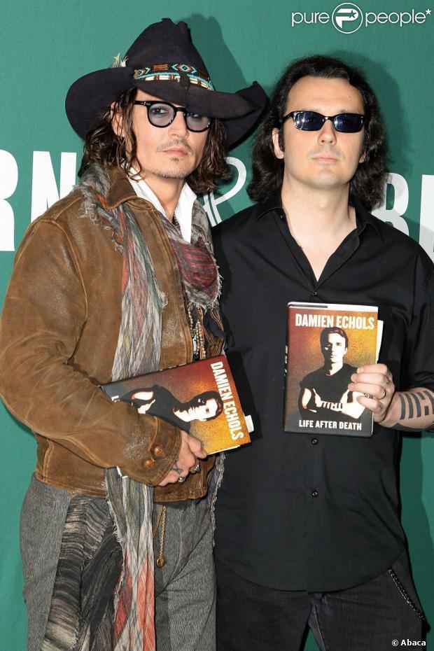 Johnny Depp, après le western, se lance dans l'édition
