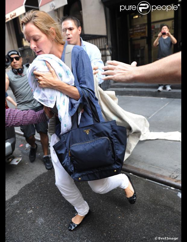 Uma Thurman révèle enfin le prénom de sa petite fille