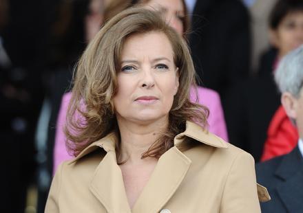 Valérie Trierweiler renonce au doux nom d'atout coeur de France