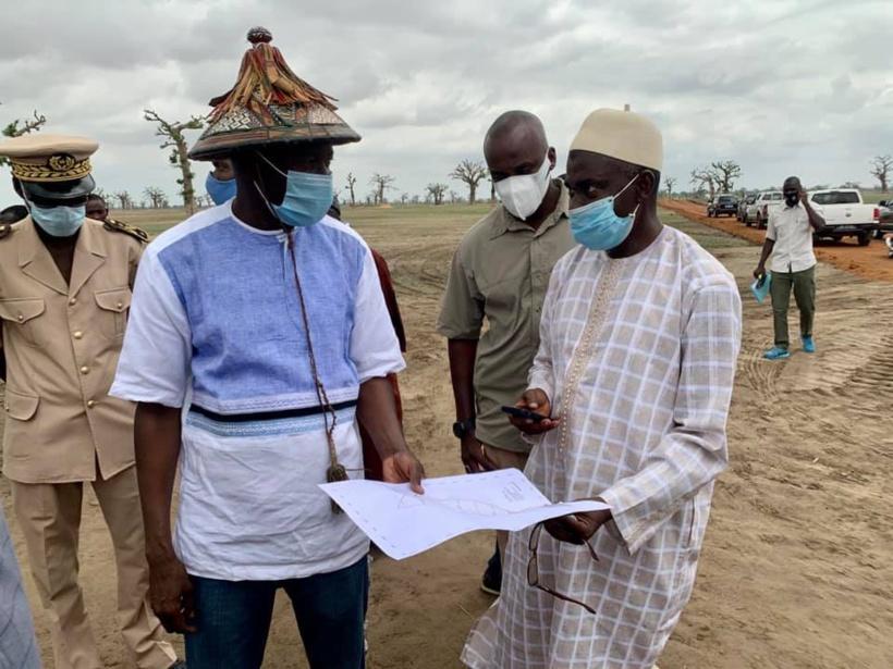 Litige foncier à Ndingler : une solution provisoire proposée et les discussions se poursuivront, annonce Aly Ngouille Ndiaye
