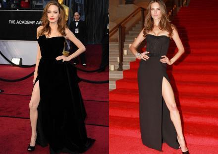 Alessandra Ambrosio et sa robe fendue : Angelina Jolie n'a qu'à bien se tenir !