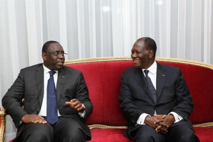 Reçu hier par Ouattara, Macky Sall réitère ses regrets sur les incidents du match Sénégal/Cote d'Ivoire