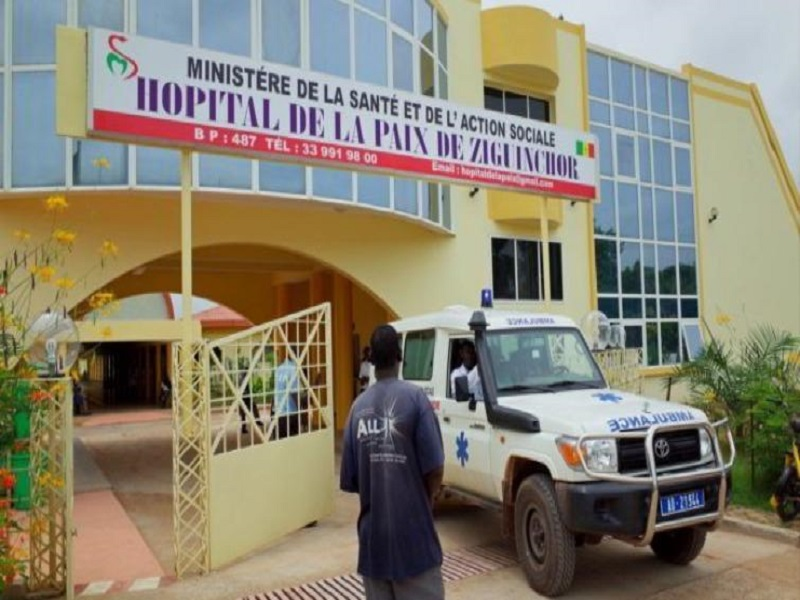 Ziguinchor : une partie du centre de traitement des malades du coronavirus inondée par les fortes pluies