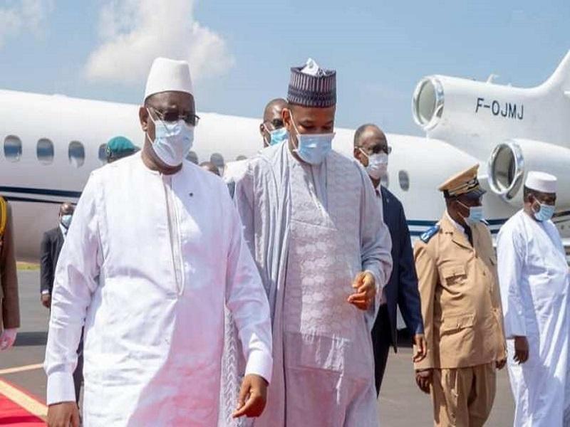 Visite des Présidents de la CEDEAO au Mali: Macky était accompagné de Cheikh Tidiane Gadio et Alioune Tine