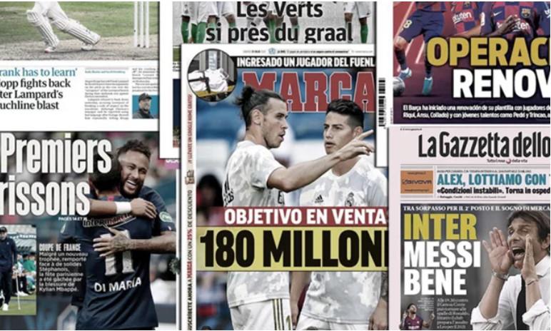 Le Real Madrid prépare une grande lessive, le clash Lampard-Klopp fait encore les gros titres en Angleterre