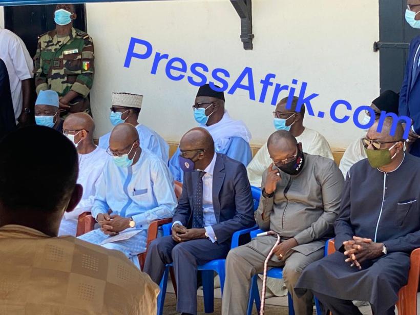 Hôpital Principal de Dakar: les images de la levée du corps de Babacar Touré