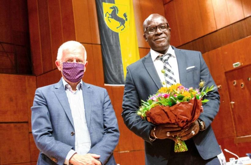 Allemagne: Saliou Guèye élu maire de Stuttgart-Zuffenhausen