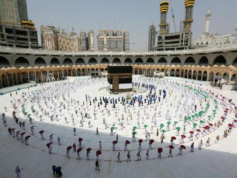 Le grand pèlerinage de La Mecque a débuté, avec de nombreuses précautions sanitaires