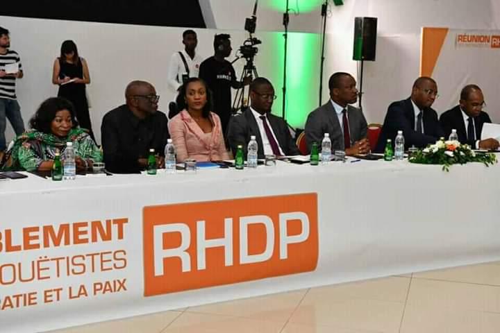 Présidentielle en Côte d'Ivoire: le RHDP se réunit pour désigner son nouveau candidat
