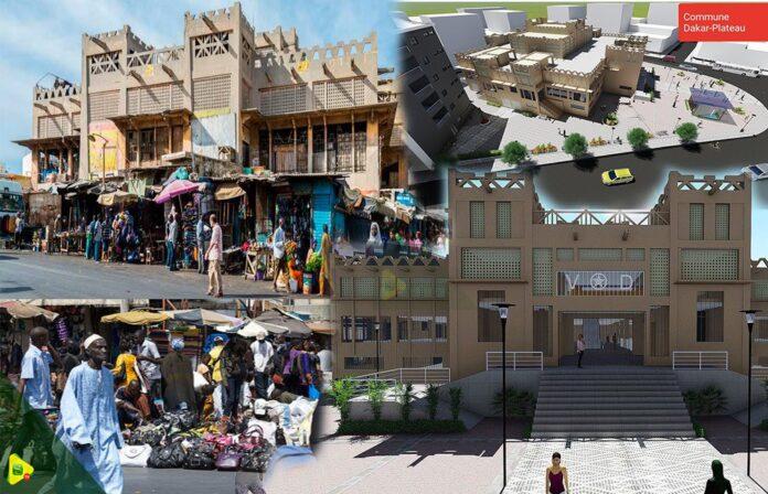 Réhabilitation Marché Sandaga: les commerçants exigent la première maquette