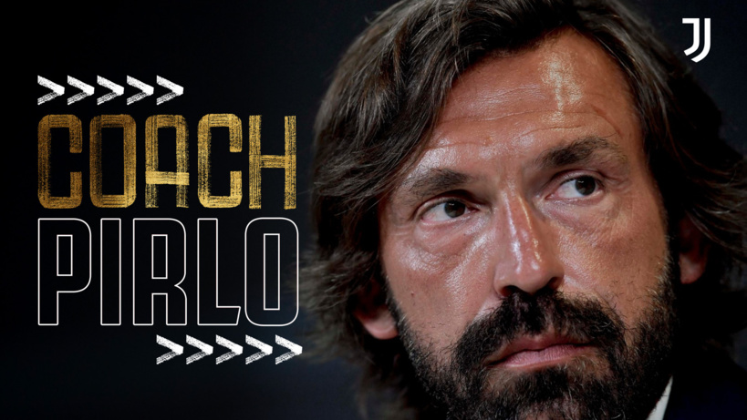 Juventus : Andrea Pirlo nommé nouvel entraîneur (officiel)