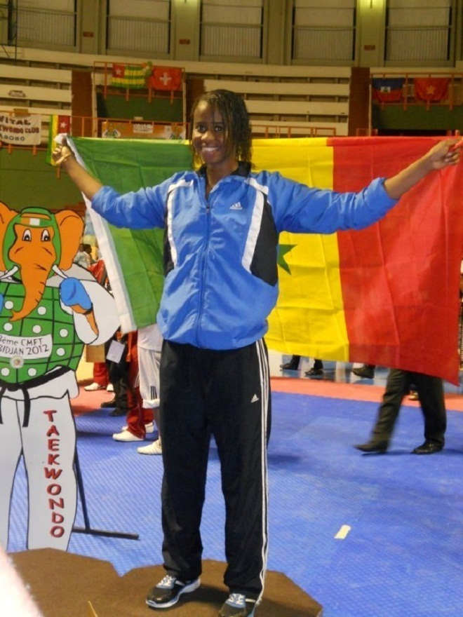 Championnat d'afrique de Madagascar 2012 : Bineta Diédhiou championne d'Afrique et meilleure combattante du tournoi