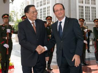 François Hollande rassure l'Asie sur le rétablissement de l'Europe