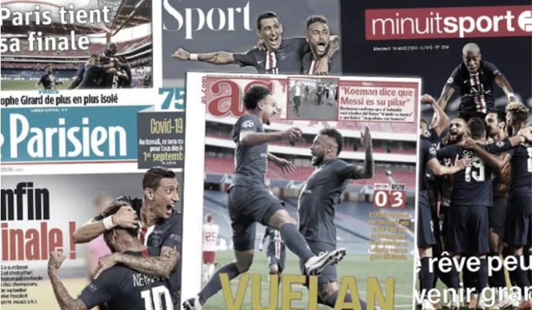 Le Paris Saint-Germain et Neymar impressionnent toute l'Europe
