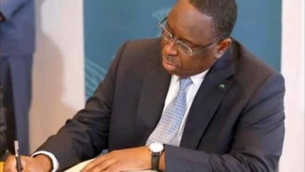 Dialogue politique: Macky prend un décret prorogeant de mandat de Famara Ibrahima Sagna