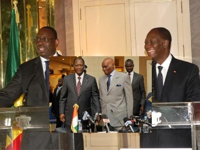Report du retour de Wade sur Dakar : Ouattara sauve le Sénégal d'une confrontation redoutée