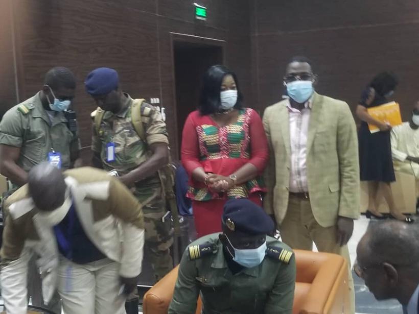 Mali: le médiateur de la Cédéao a rencontré le CNSP (IMAGES)