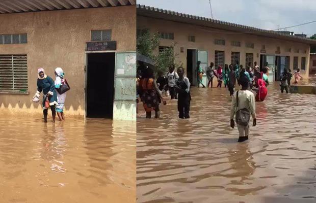 Inondations centre Cfee Pikine: des enseignants exigent l'annulation des épreuves !