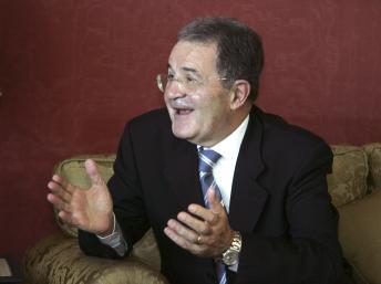 Romano Prodi, le «Monsieur Sahel des Nations unies», le 20 novembre 2012 au Maroc.