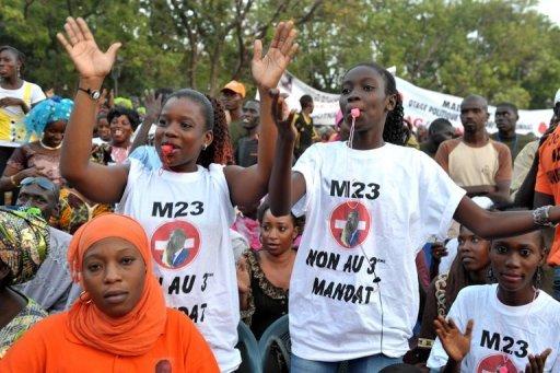 Les jeunes du M23 toujours avant-gardistes devant les dérives du pouvoir