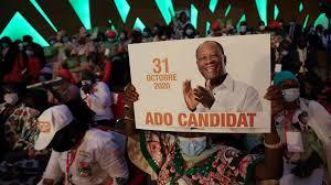Emmanuel Macron reçoit le président ivoirien Alassane Ouattara, candidat à sa réélection