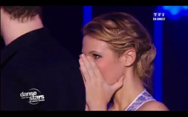 Surprise : Lorie est éliminée de Danse avec les stars !