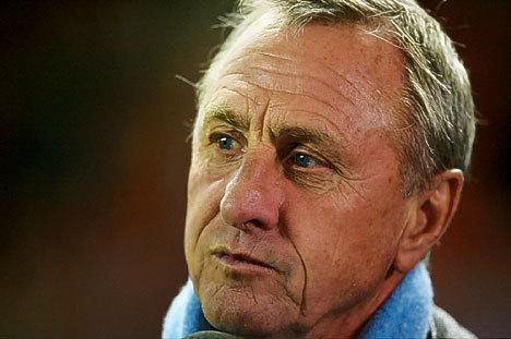 Cruyff ne veut pas de Neymar au Barça