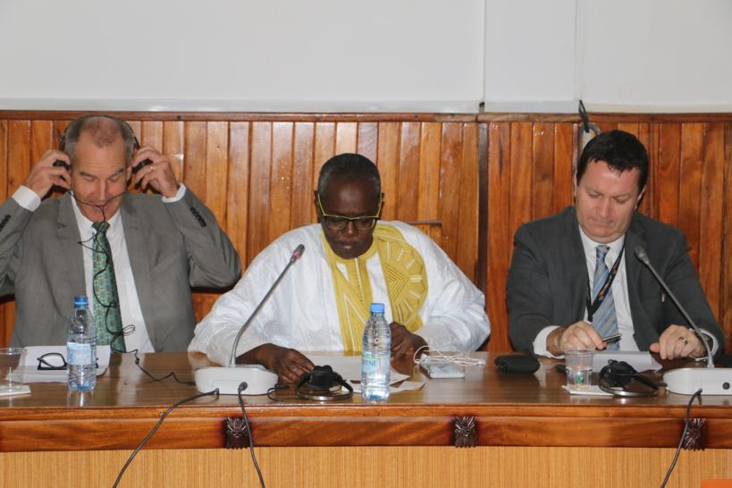 Professeur Amadou Diouf, ancien Doyen de la Faculté de Médecine de l'Ucad et actuel président du Codex Alimentarius