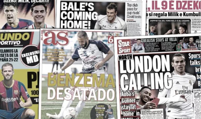 Tottenham met une star dans la balance pour rapatrier Gareth Bale, Karim Benzema impressionne déjà l'Espagne