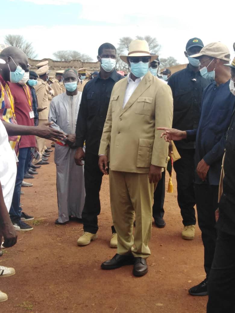 Fatick: tournée économique du président Macky Sall en images