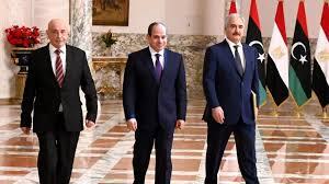 Libye: Aguila Saleh et Khalifa Haftar rencontrent le président égyptien al-Sissi au Caire