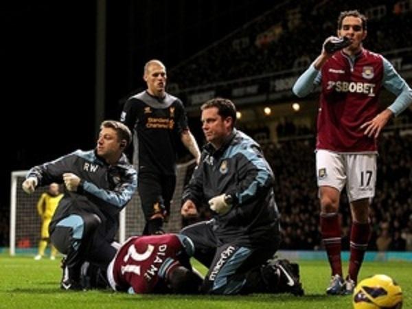 West Ham: Gravement blessé, Diamé out pour 03 mois