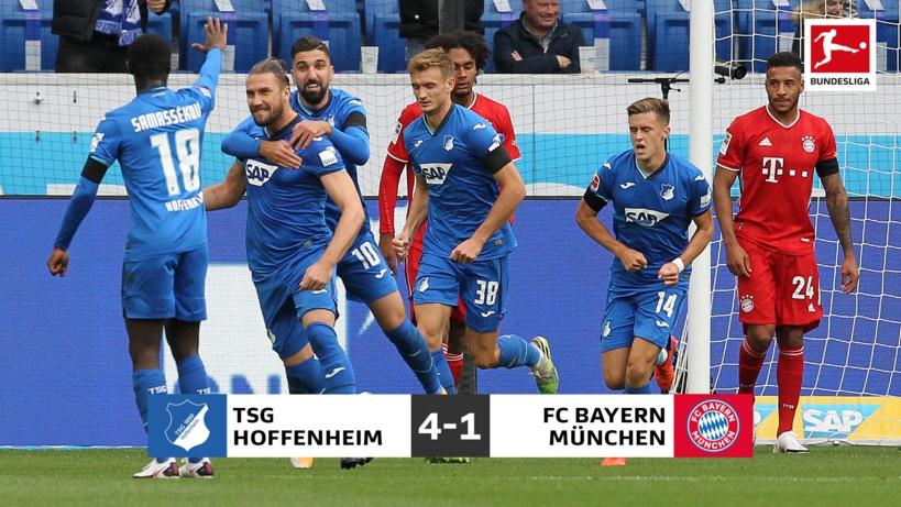 Le Bayern Munich perd pour la première fois depuis 10 mois