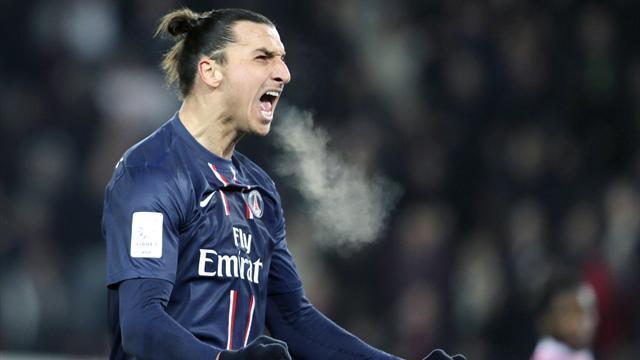 Auteur d'un triplé à Valenciennes (0-4), Zlatan Ibrahimovic (PSG) détraque les compteurs en L1