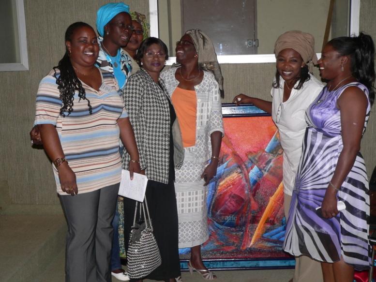 Hommage du SYNPICS à Diatou Cissé Badiane, Secrétaire Générale sortante