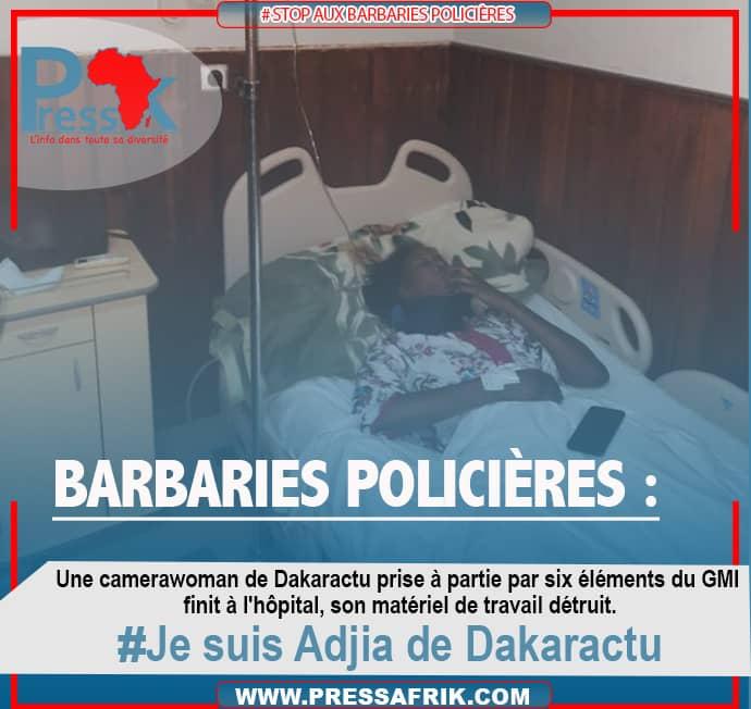 Violence policière sur la reporter de Dakar Actu: les organisations de la presse reçues ce mercredi par Aly Ngouille Ndiaye