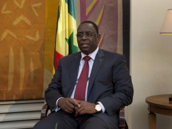 Macky Sall à Dakar, le 11 octobre 2012. REUTERS/Joe Penney