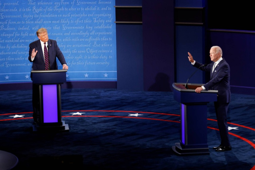 Les moments forts du débat houleux entre Donald Trump et Joe Biden