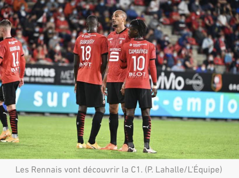 Ligue des champions : Rennes avec le Séville FC, Chelsea et Krasnodar