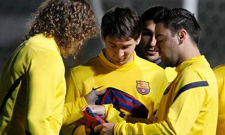 FC Barcelone: Messi, Puyol et Xavi prolongent