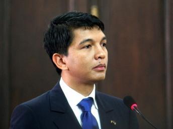 Madagascar: Andry Rajoelina a rencontré Laurent Fabius à Paris