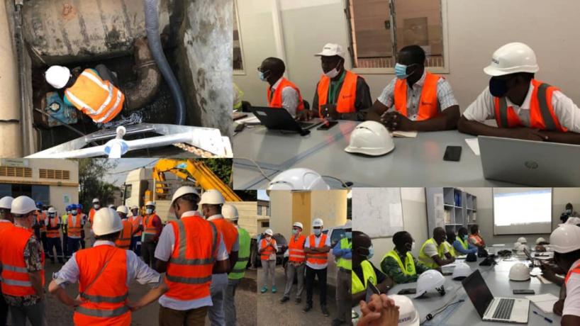 Pénurie d'eau à Dakar: La fuite de l'usine du Point B en cause (VIDEO)